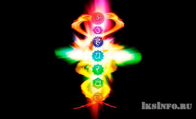 Точки соприкосновения змей на Кадуцее символизируют 7 чакр в буддизме