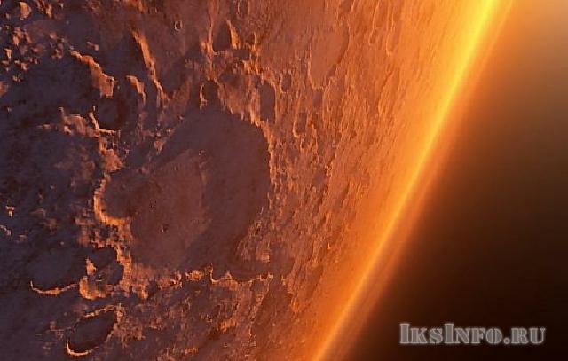 Кратеры красной планеты Марс