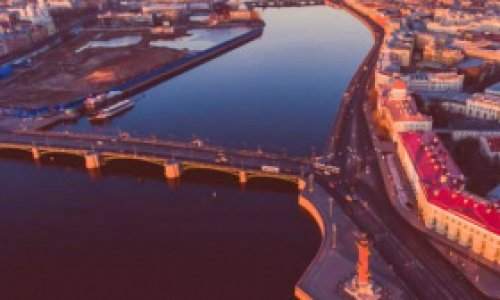 Через 100 лет Петербург…