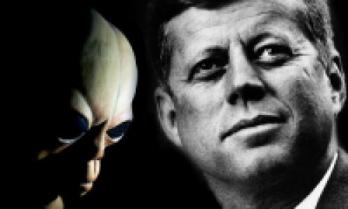 Кеннеди убили из-за инопланетян