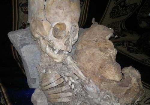 В Перу нашли мумию очень похожую на останки гуманоида