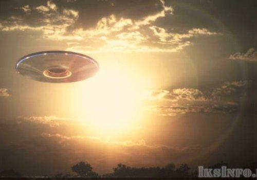 Гигантский НЛО над Самарой
