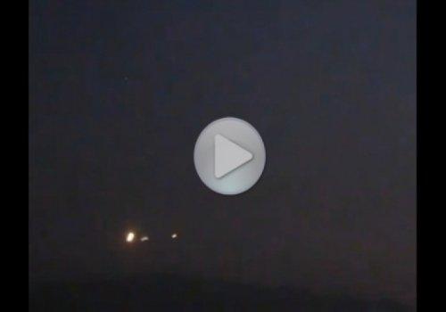 Три НЛО были сняты в апреле 2011 над Чили
