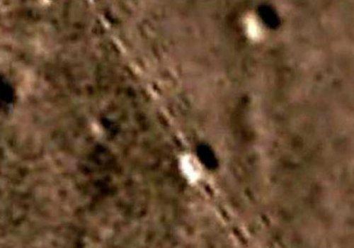 На Марсе обнаружена железная дорога