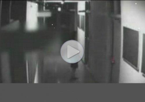Камеры наблюдения зафиксировали приведения в Японии