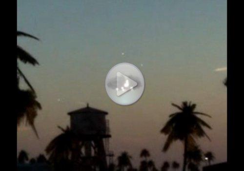 НЛО был снят туристами в потрясающей близи!