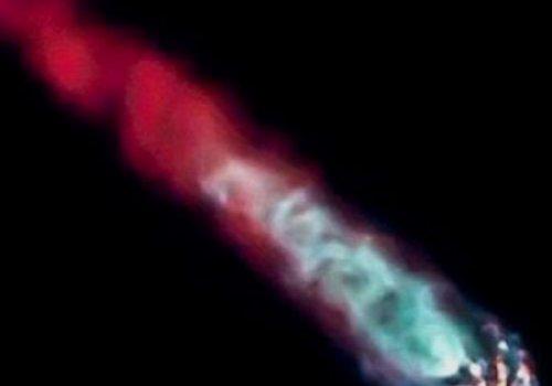 Камера компании Space X сняла нечто на орбите Земли
