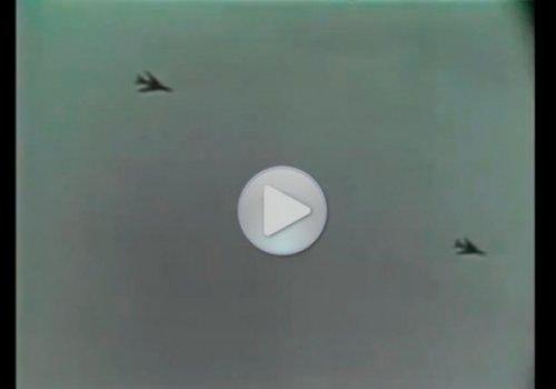 НЛО сбило два советских истребителя