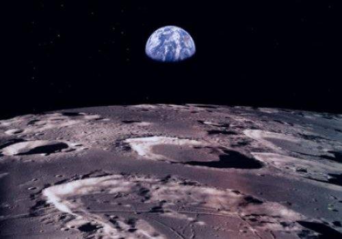 На Луне обнаружено очень много метала