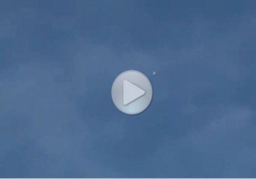 НЛО был снят в Калифорнии