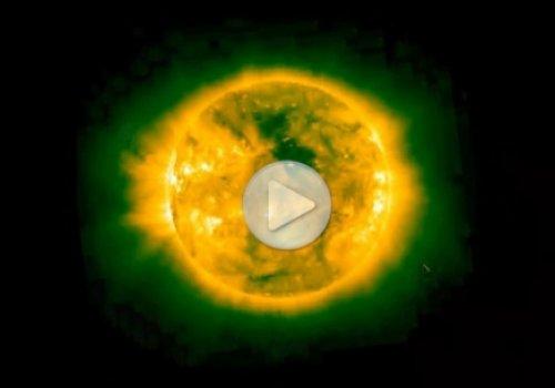 НЛО на Солнце за ноябрь 2013 года