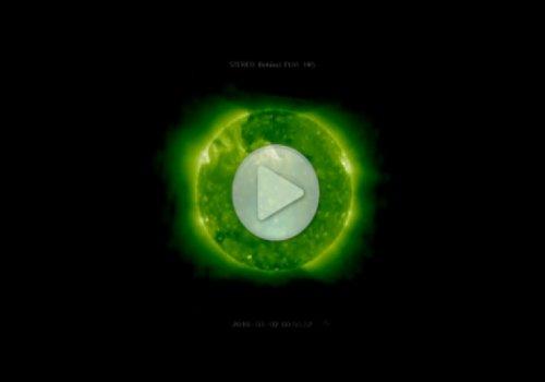 Гигантские НЛО были обнаружены на поверхности Солнца