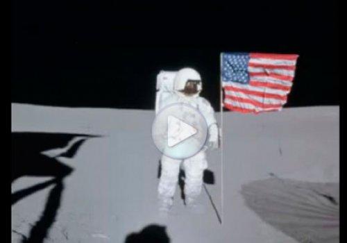 Засекреченное видео НАСА об НЛО