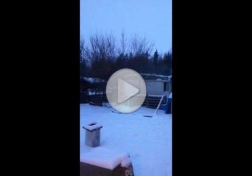 Странные звуки с неба в Канаде