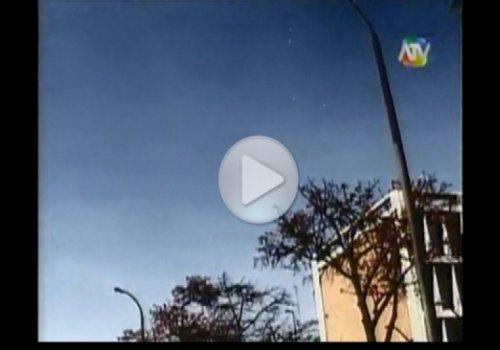 Массовое наблюдение НЛО над Лимой