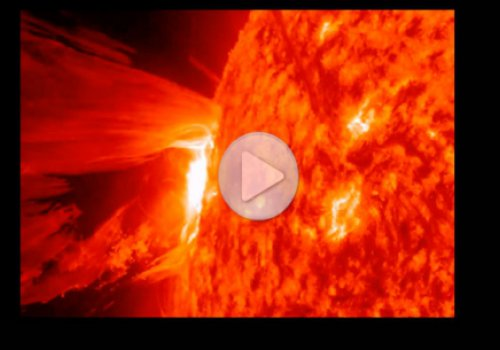 НЛО вызывает извержения на Солнце