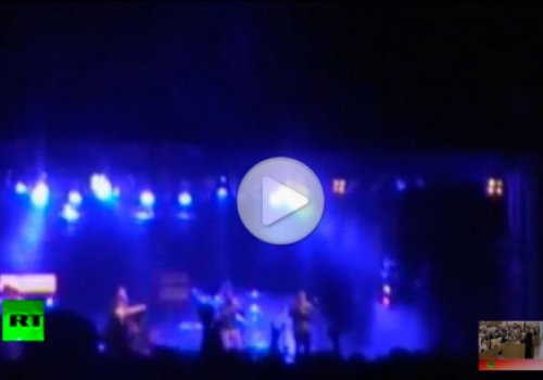 В Аргентине во время концерта пролетел метеорит