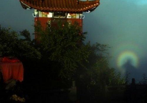 В Китае явился облик Будды