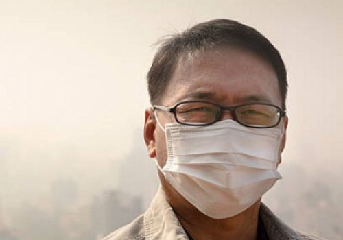 Пекин окутан загадочным смогом