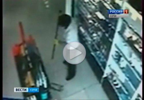 В одном из краснодарских магазинов был обнаружен призрак