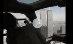 НЛО над Нью-Йоркам атакует вертолет