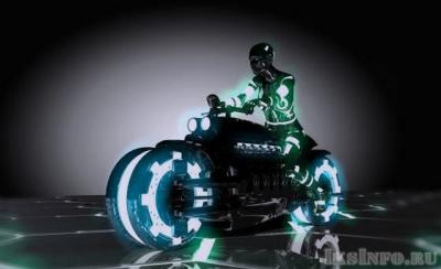 Телепортирующийся мотоцикл чуть не убил людей