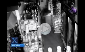 В Подмосковье, в одном из магазинов завелся призрак