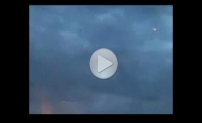 Группа НЛО маневрирует над Казахстаном
