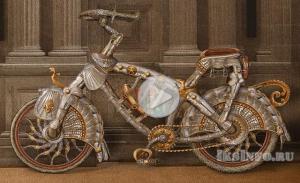 Найден древний велосипед 12 века