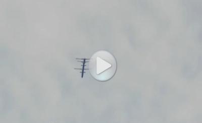 НЛО станция на орбите Земли