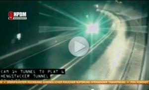 В Германии НЛО поднял в воздух грузовик